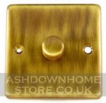 Standard Plate Antique Bronze Dimmer Switches